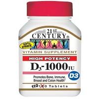 Витамин D3 1000 МE (110 табл)