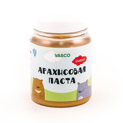 Сладкая арахисовая паста VASCO 320гр