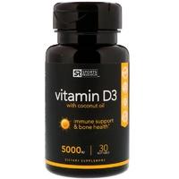 Витамин D3 с кокосовым маслом 5000 МЕ (30табл)