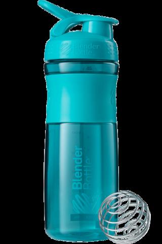 Blender Bottle SportMixer 828мл (голубой)