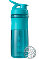 Blender Bottle SportMixer 828мл (голубой)