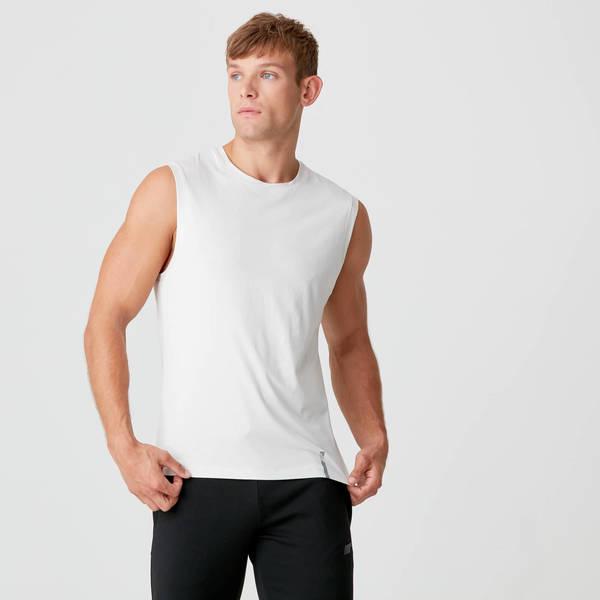 MP Мужская футболка без рукавов (Серая)