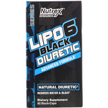 Nutrex Lipo-6 Black Diuretic 80капс