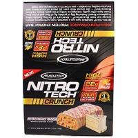 Muscletech хрустящие протеиновые батончики 65гр