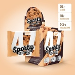 Протеиновое печенье Шоколад-фундук (коробка 6шт)