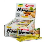 Протеиновые батончики BombBar (Арахис) 20шт