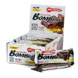 Протеиновые батончики BombBar (Шоколад) 20шт