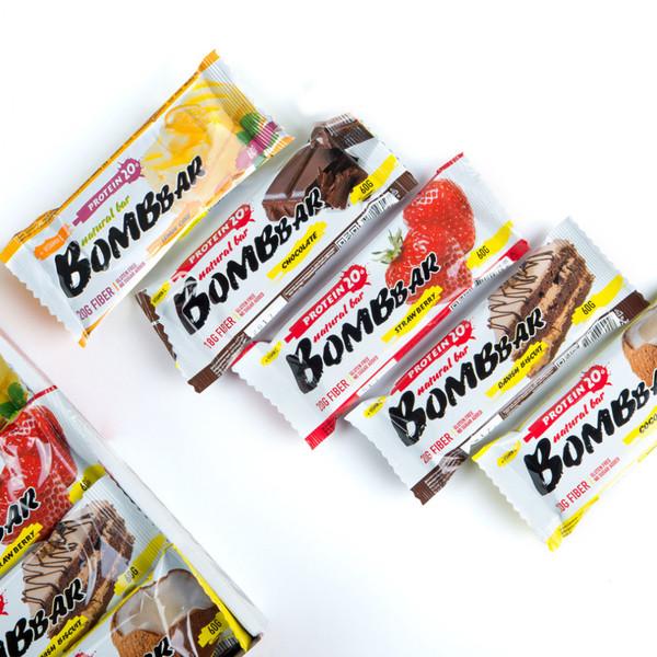 BombBar Протеиновый батончик 60 гр (вкусы в ассортименте)