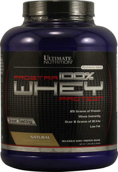 Ultimate Nutrition Prostar Whey 2,4 кг (80порц)
