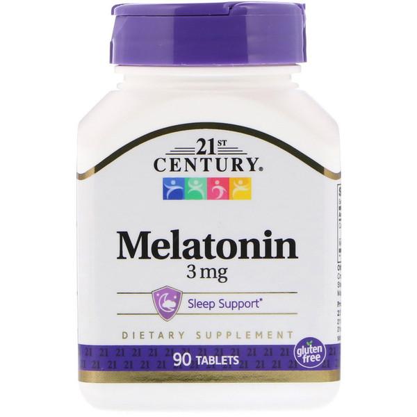 21st Century, Мелатонин 3 мг 90 таблеток