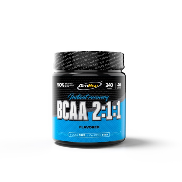 Optimeal BCAA 2:1:1 instant recovery 240gr(40serv)