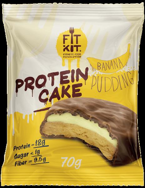 FitKit Protein Cake 70гр (Банан)