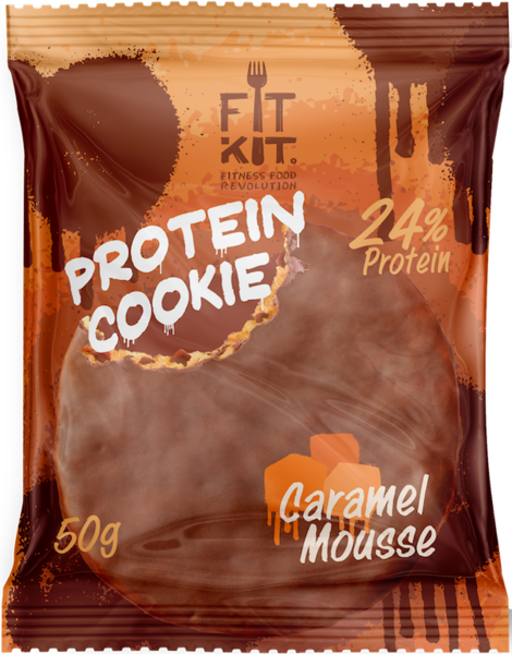 FitKit Choco Protein Cookie 50гр (Карамель)