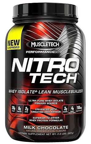 Nitro-Tech Whey Isolate 907гр