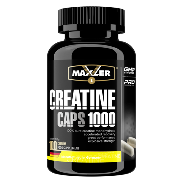 Maxler Creatine CAPS 1000 (100 caps)