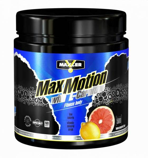 Max Motion with L-Carnitine 500гр