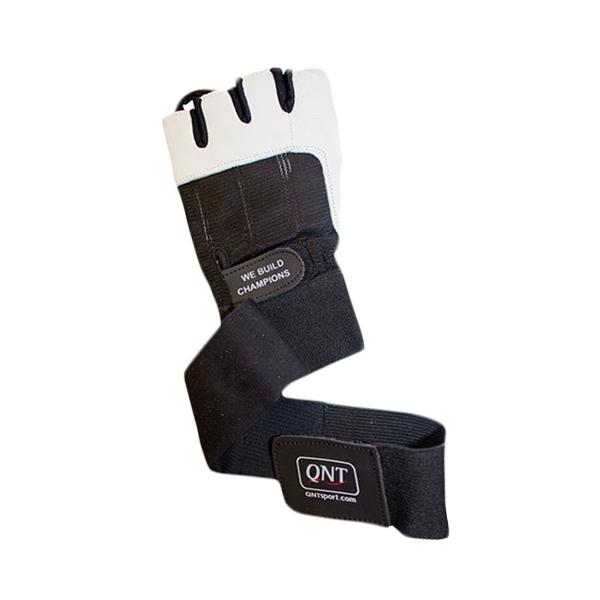 QNT Перчатки с кистевыми бинтами GLOVES BG30 LONG STRAP