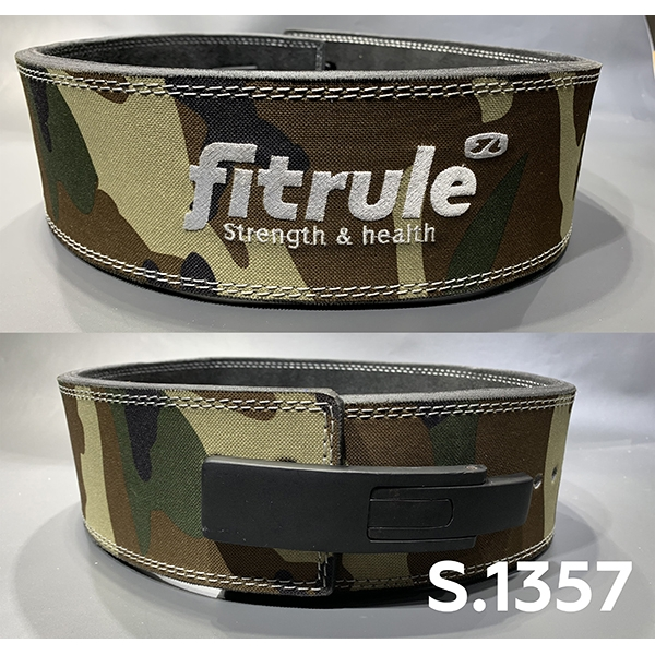 Ремень FitRule weight lifting lever belts in camo