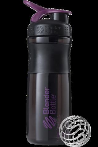 Blender Bottle SportMixer 828мл (черн/слив)
