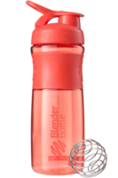 Blender Bottle SportMixer 828мл (корал)