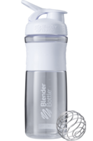 Blender Bottle SportMixer 828мл (Белый)