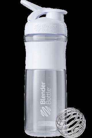 Blender Bottle SportMixer 828мл (Белый)