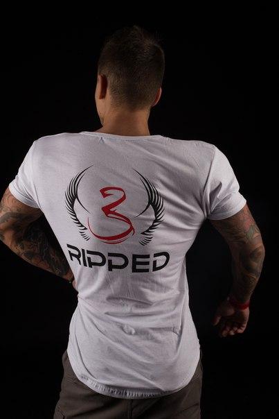 Футболка Ripp3d.wear (white)