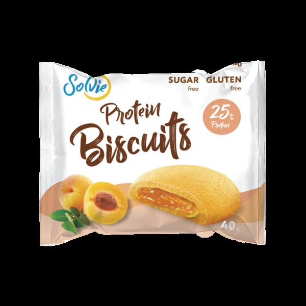 Solvie Бисквиты Протеиновые 40гр (Абрикос)