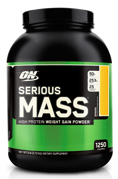 Optimum Nutrition Serious Mass 2.7кг
