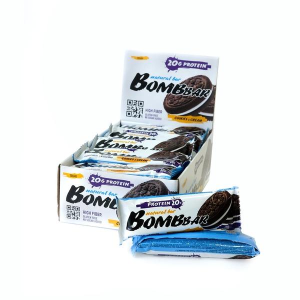 Протеиновые батончики BombBar (Орео) 20шт