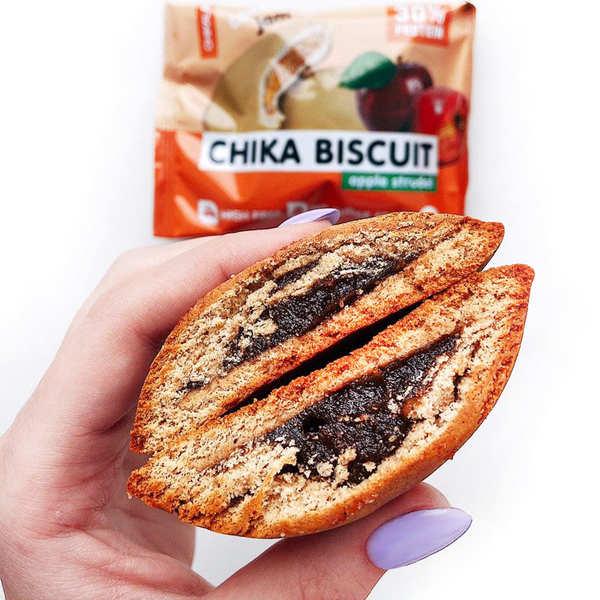 Chikalab Бисквитное печенье 50гр (Яблочный штрудель)